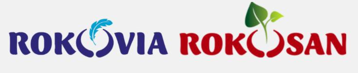 Rokosan and Rokovia logos